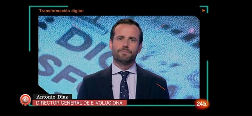Antonio Díaz en Emprende TVE